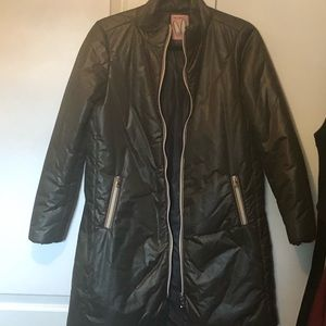 Rose A Pois Puffer Jacket IT 42. Fits like a US 4
